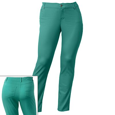 SO Color Skinny Twill Pants - Juniors' Plus