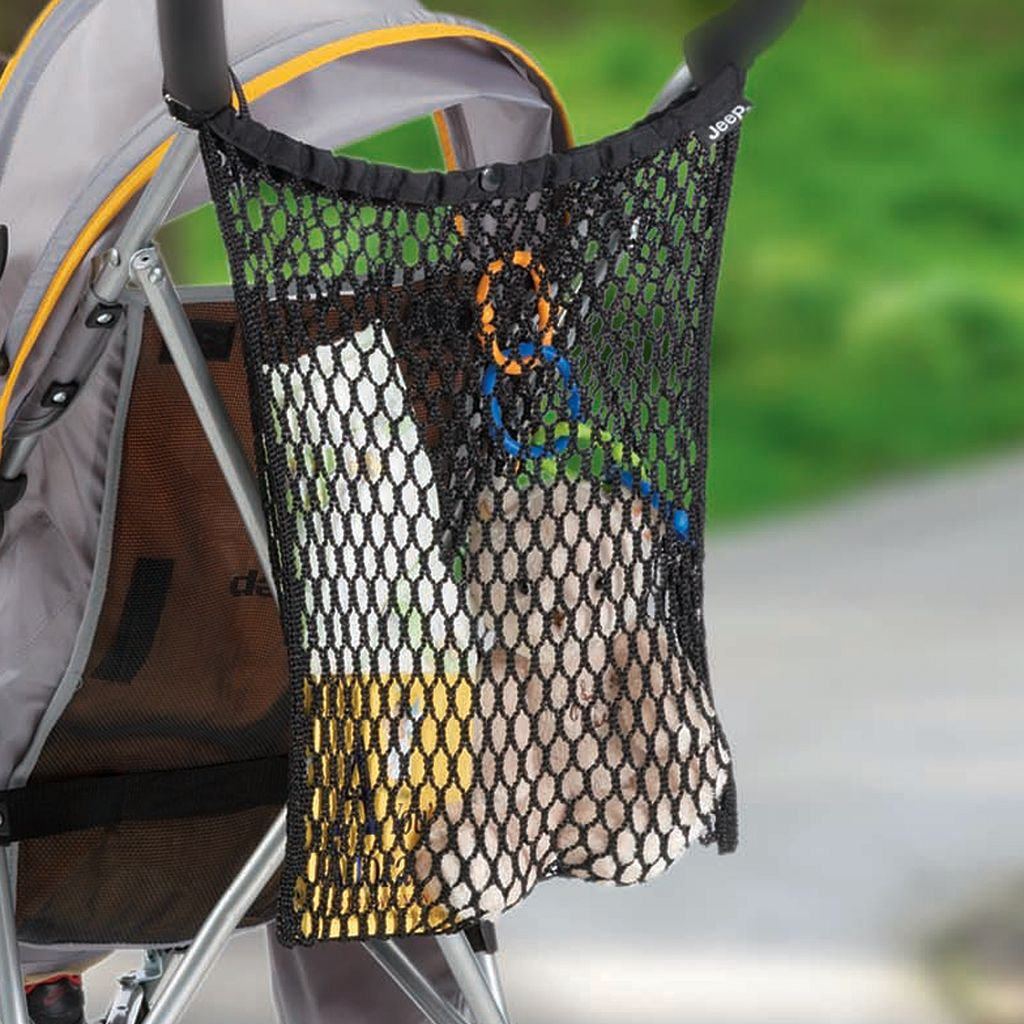 J is for Jeep Mesh Storage Bag