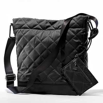 Princess Vera Wang Quilted Cross-Body Bag