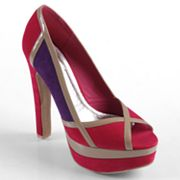 Journee Collection Nest Peep-Toe Platform High Heels - Women