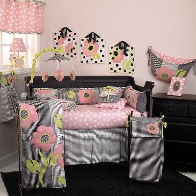Cotton Tale 3-pc. Poppy Crib Bedding Set