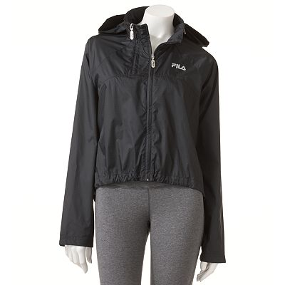 FILA SPORT Performance Running Crop Jacket