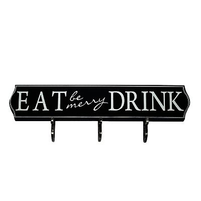 Eat Drink Wall Hook