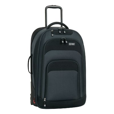 Chaps Discovery 25-in. Navy Expandable Wheeled Upright