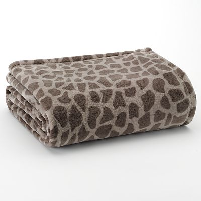 The Big One Giraffe Plush Throw