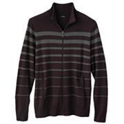 Apt. 9 Veriegated Striped Full-Zip Sweater