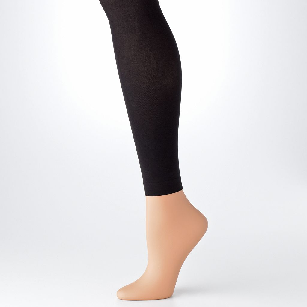 Hanes Matte Opaque Leggings