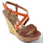 Journee Collection Mirage Platform Wedge Sandals - Women