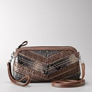 Relic Heather Patchwork Wristlet