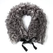 Simply Vera Vera Wang Faux-Fur Collar