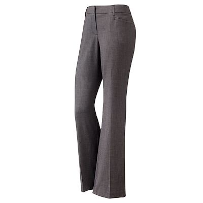 Apt. 9 Curvy Fit Trouser Pants