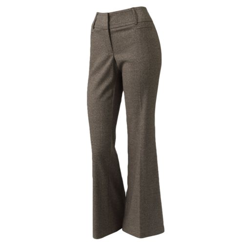 Apt. 9 Modern Fit Wide-Leg Trouser Pants