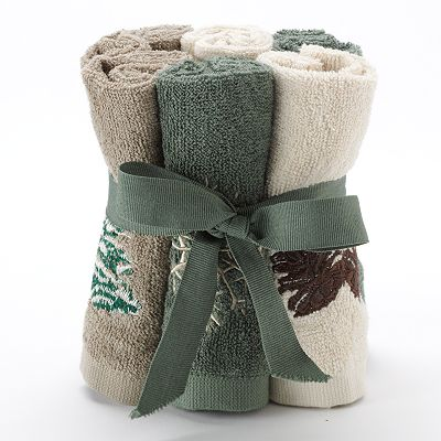 St. Nicholas Square Holiday 6-pk. Washcloths