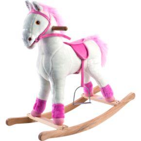 Happy Trails Plush Rocking Patricia Pony