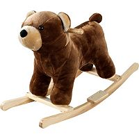Happy Trails Plush Rocking Barry Bear