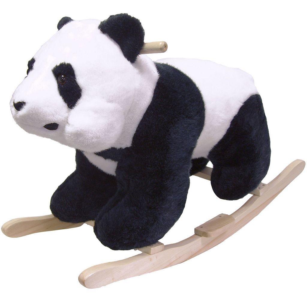 Happy Trails Plush Rocking Panda Bear