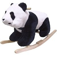 Happy Trails Plush Rocking Panda Bear
