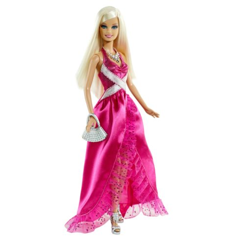 Barbie Pinktastic Blonde Doll by Mattel