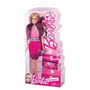 Barbie Pinktastic Wavy Blonde Doll by Mattel