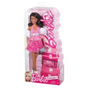 Barbie Pinktastic Wavy Brunette Doll by Mattel