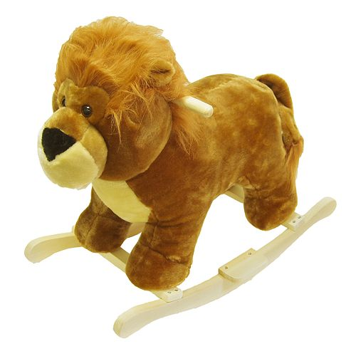 Happy Trails Plush Rocking Lion