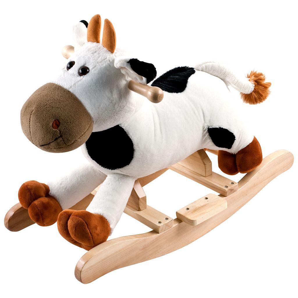Happy Trails Plush Rocking Connie Cow