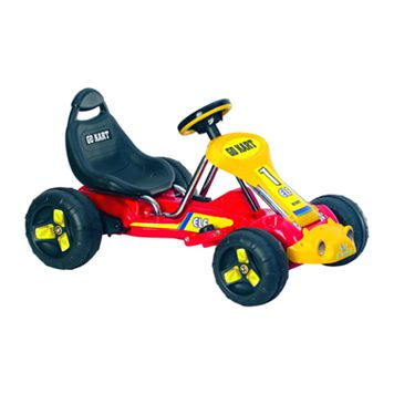 Lil' Rider Red Racer Go-Kart Ride-On