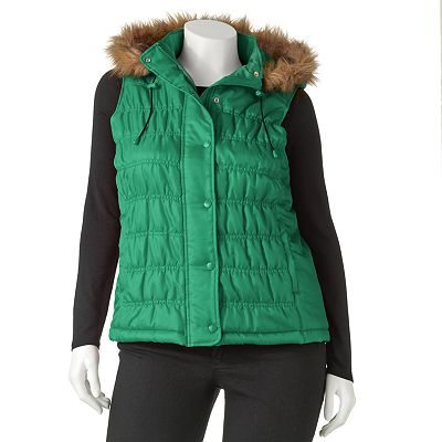 SO Puffer Vest - Juniors' Plus