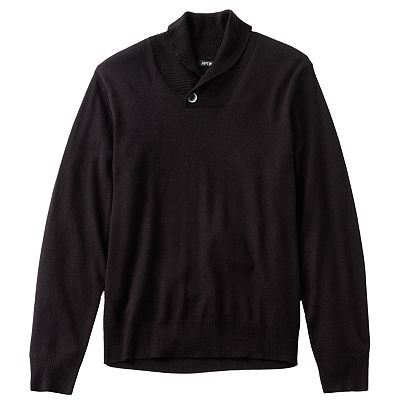 Apt. 9 Merino Shawl-Collar Sweater
