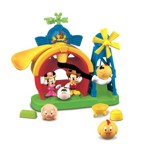 Disney Mickey Mouse and Friends Barnyard Farm Playset by Fisher-Price