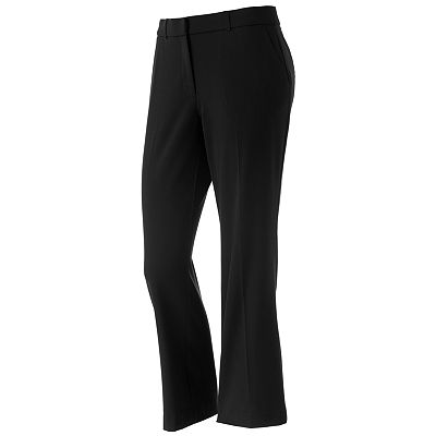 Sag Harbor Straight-Leg Pants - Petite