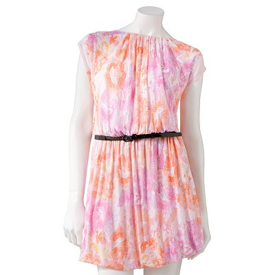 Candie's Abstract Bubble Dress - Juniors