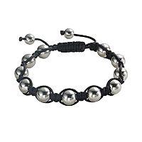 Stainless Steel Shamballa Bracelet