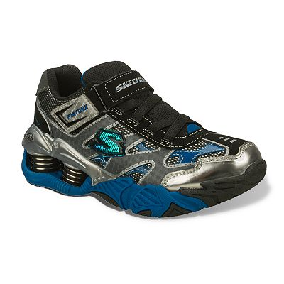Skechers Mega Flex Pistonz Athletic Shoes - Boys