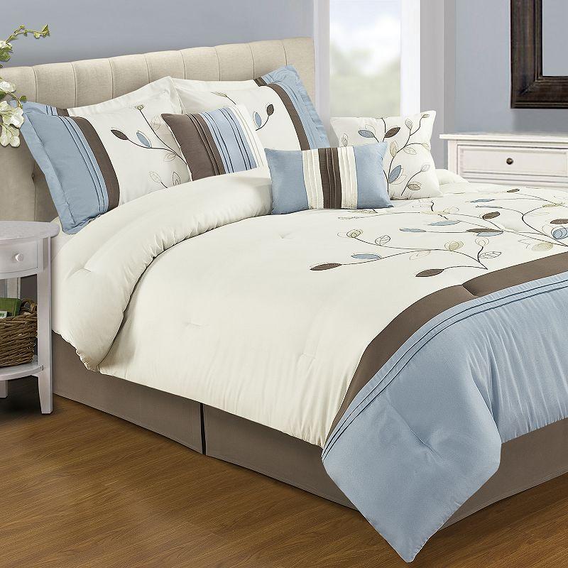 home classics hayley 12 pc comforter set full