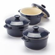 Food Network 3-pc. Covered Mini Baker Set