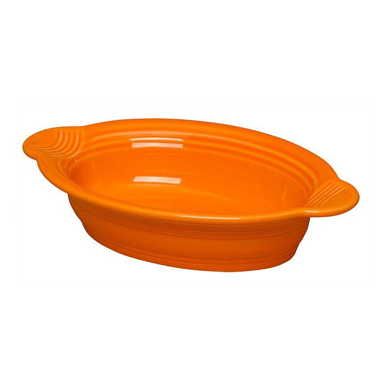 Fiesta Individual 9-in. Oval Casserole Dish, Orange