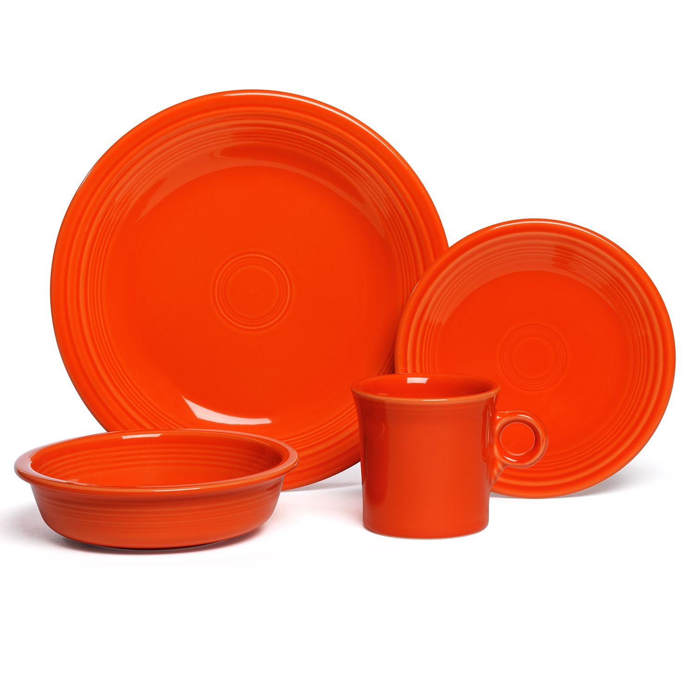 Fiesta 4-pc. Place Setting  sc 1 st  Kohl\u0027s & Fiesta Dinnerware \u0026 Serveware Kitchen \u0026 Dining   Kohl\u0027s