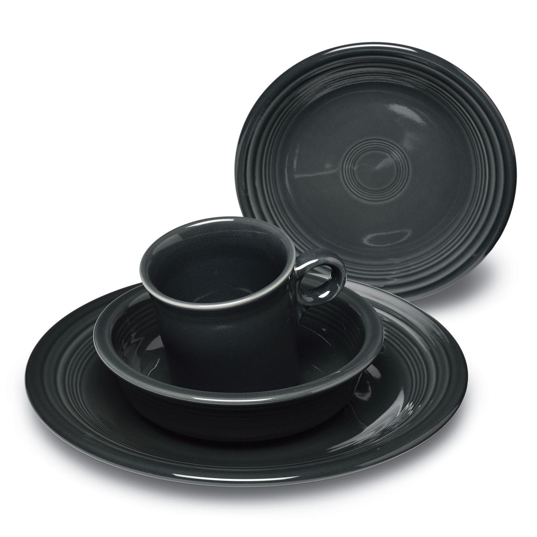 Fiesta 4-pc. Place Setting  sc 1 st  Kohlu0027s & Grey Dinnerware Sets Dinnerware u0026 Serveware Kitchen u0026 Dining | Kohlu0027s