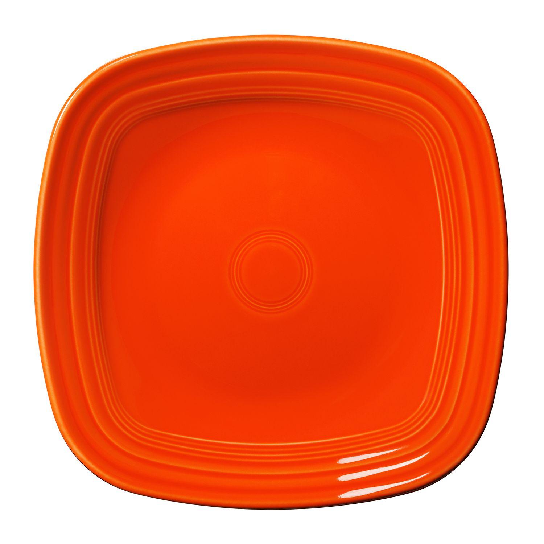 Fiesta Square Dinner Plate  sc 1 st  Kohlu0027s & Orange Dinner Plates Dinnerware u0026 Serveware Kitchen u0026 Dining | Kohlu0027s