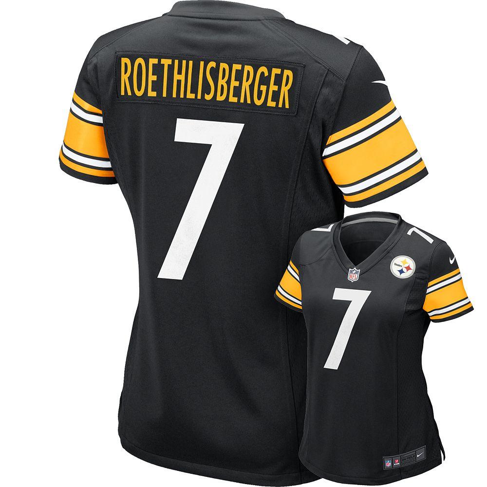 c8c485a72 Women s Nike Pittsburgh Steelers Ben Roethlisberger NFL Jersey