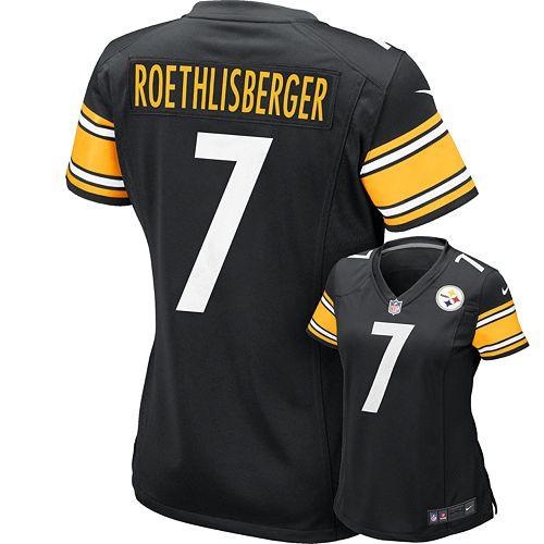 Women's Nike Pittsburgh Steelers Ben Roethlisberger NFL Jersey