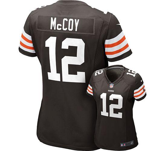 size 40 5f566 3542e Nike Cleveland Browns Colt McCoy NFL Jersey - Women