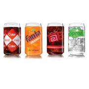 Luminarc Coca-Cola 4-pc. Assorted Can Glass Set