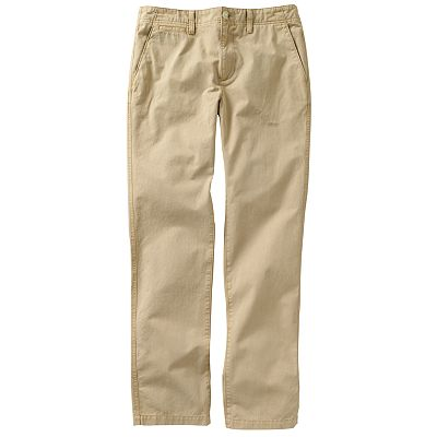 Urban Pipeline Flat-Front Slim-Fit Twill Pants