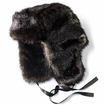 Simply Vera Vera Wang Faux-Fur Trapper Hat