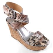 Journee Collection Pippa Platform Wedge Sandals - Women