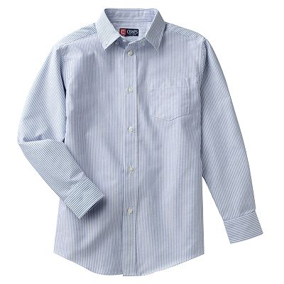 Chaps Striped Oxford Button-Down Shirt - Boys 8-20