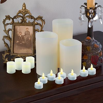 Assorted 27-pc. Vanilla Flameless LED Candle Set