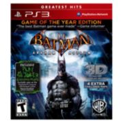 Batman: Arkham Asylum Game of the Year Edition for PlayStation 3